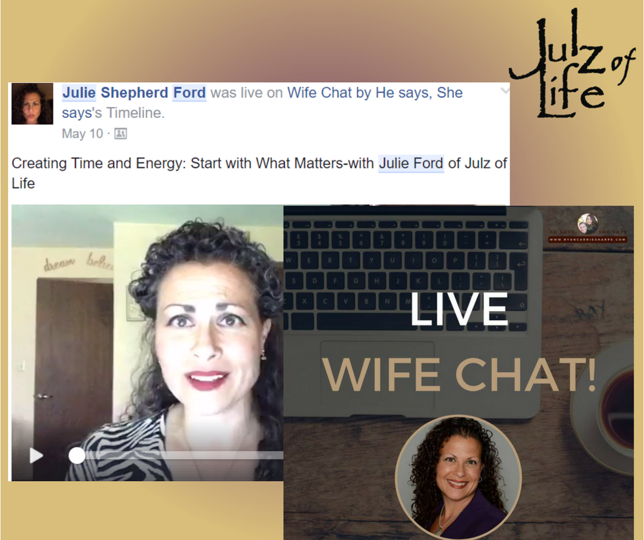Guest Speaker on Wife Chat by He says, She says